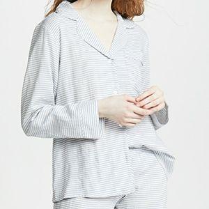 •EBERJEY• Nautico Slouchy Striped Pajama Top S.